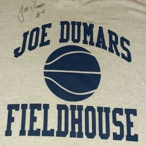 Signed 1996 Joe Dumars Fieldhouse Vintage Shirt